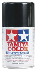 Tamiya PS-5 Black Polycarbonate Spray 3 Oz TAM86005