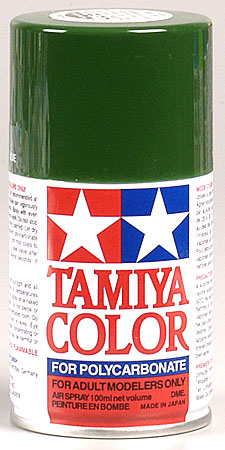 Tamiya Ps-9 Green Polycarbonate Spray 3 Oz TAM86009