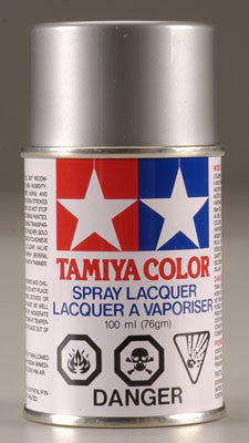 Tamiya Ps-12 Silver Polycarbonate Spray 3 Oz TAM86012