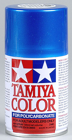 Tamiya Ps-16 Metal Blue Polycarbonate Spray 3oz TAM86016