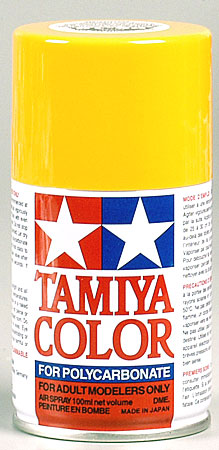 Tamiya Ps-19 Camel Yellow Polycarbonate Spray TAM86019