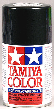 Tamiya Ps-23 Gunmetal Polycarbonate Spray 3 Oz Mini TAM86023