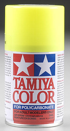 Tamiya Ps-27 Fluorescent Yellow Polycarbonate TAM86027