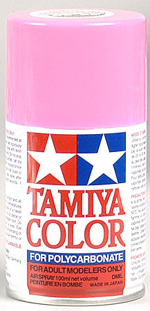 Tamiya Ps-29 Fluorescent Pink Polycarbonate 3oz Mini TAM86029