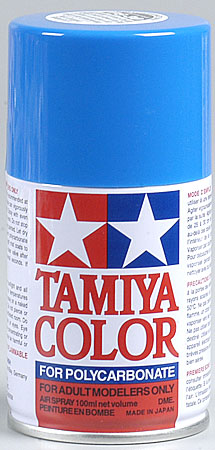 Tamiya Ps-30 Brilliant Blue Polycarbonate Spray 3oz MiniTAM86030