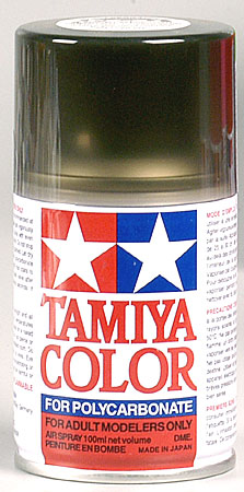 Tamiya Ps-31 Smoke Polycarbonate Spray 3 Oz TAM86031