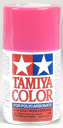 Tamiya Ps-33 Cherry Red Polycarbonate Spray 3oz TAM86033