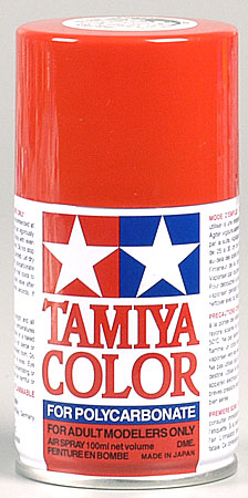 Tamiya Ps-34 Bright Red Polycarbonate Spray 3oz TAM86034