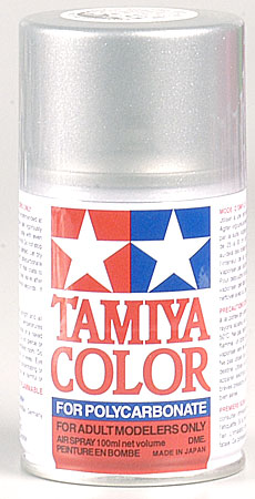 Tamiya Ps-36 Translucent Silver Polycarbonate TAM86036