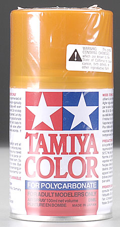 Tamiya Ps-43 Translucent Orange Polycarbonate TAM86043