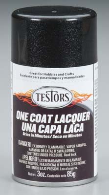 Testers 1832mt Spray Blazing Black 3oz TES1832MT