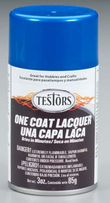 Testors Lacq Spray Star Spangled Blue 3 oz TES1843MT