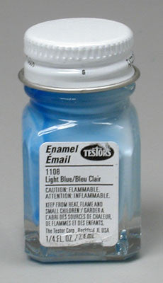 Testors Light Blue 4-Jan oz TES1108TT