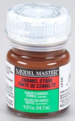 Testors Model Master Brown Detail Stain (SG) 2-Jan oz TES2179