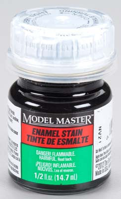 Testors Model Master Black Detail Stain (SG) 2-Jan oz TES2178