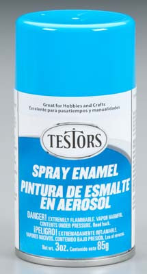 Testors Spray Light Blue 3 oz TES1208T