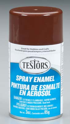 Testors Spray Brown 3 oz TES1240T