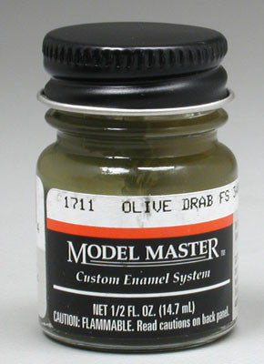 Testors Model Master Olive Drab 34087 2-Jan oz TES171106