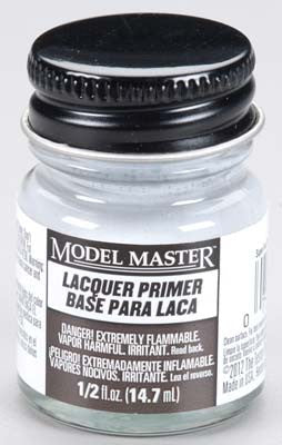Testors Model Master Super Fine Gray Lacquer Primer 2-Jan oz TES2782
