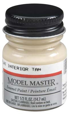 Testors Model Master Flat Interior Tan 2-Jan oz TES2738