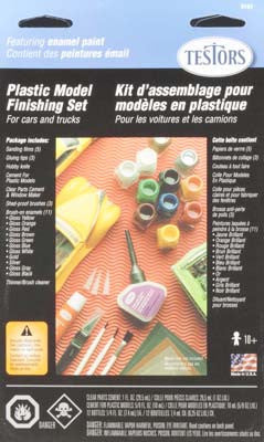 Testors Enamel Finishing Kit Gloss TES9161BT