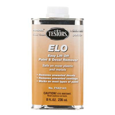 Testors Easy Lift-Off Remover 8 OZ TESF542143