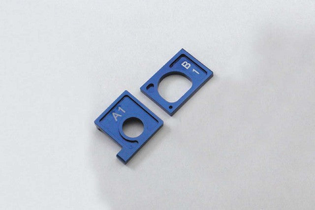 Kyosho MINI Z ALUM MOTOR HOLDER SET BLUE KYOMDW007-01