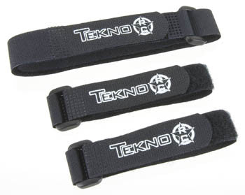 Tekno RC Battery Straps (2 short 1 long) TKR40007K