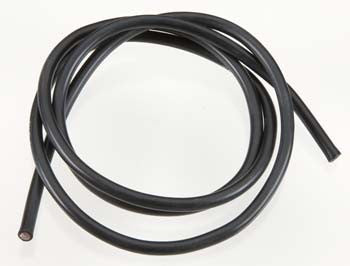 TQ Wires 10 Gauge Wire 3' Black TQ1131