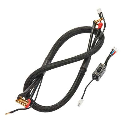 TQ Wire 2624 1-Cell/2 Cell Compl Charging Cable Combo iChargers TQW2624