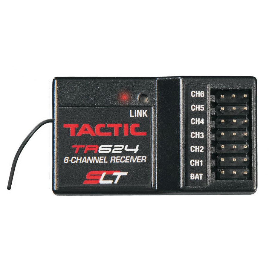 Tactic 6ch 2.4ghz Slt Receiver TACTR624