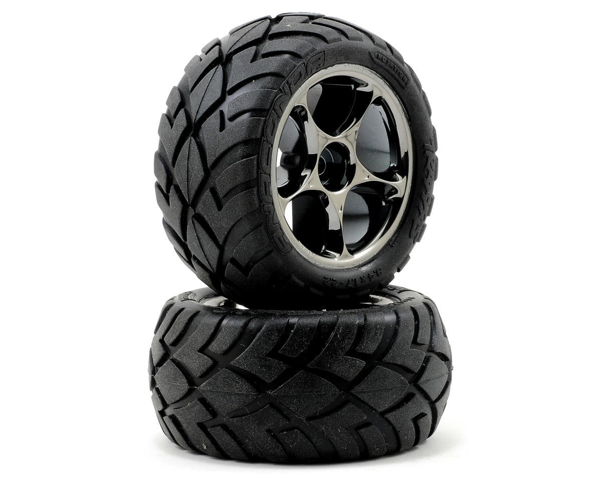 Traxxas Tires & Wheels Assembled Bandit Rear TRA2478A