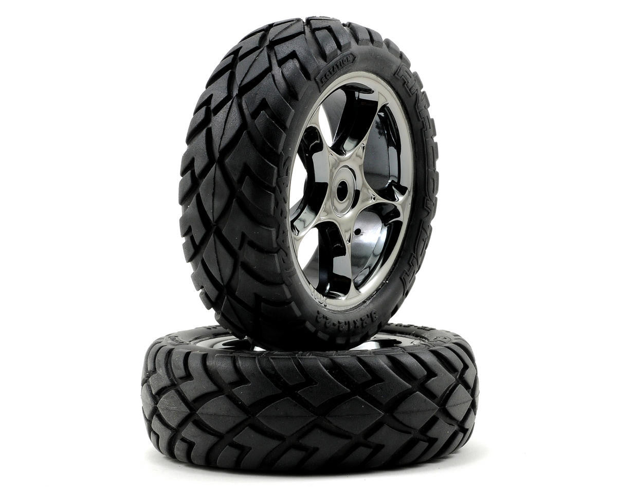 Traxxas Tires & Wheels Assembled Bandit Front TRA2479A