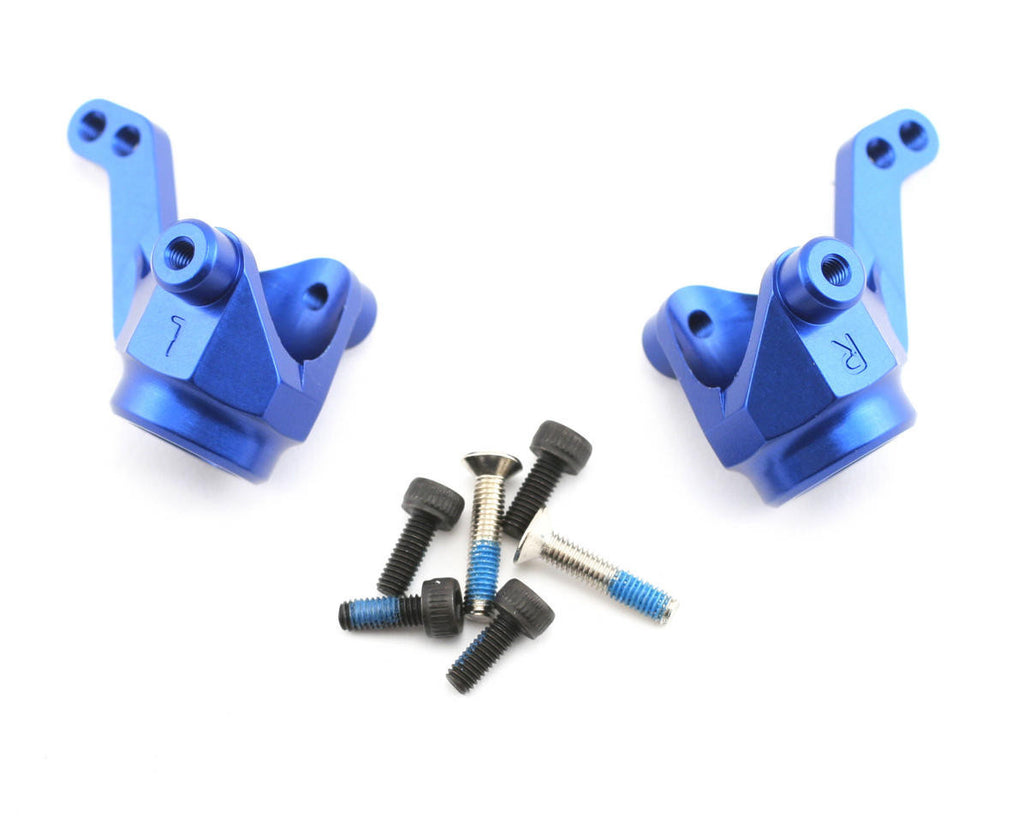 Traxxas Steering Blocks/Axle Housings Blue Anodized TRA4336X