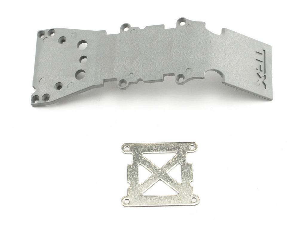 Traxxas Skid Plate Front Plastic Gray TRA4937A