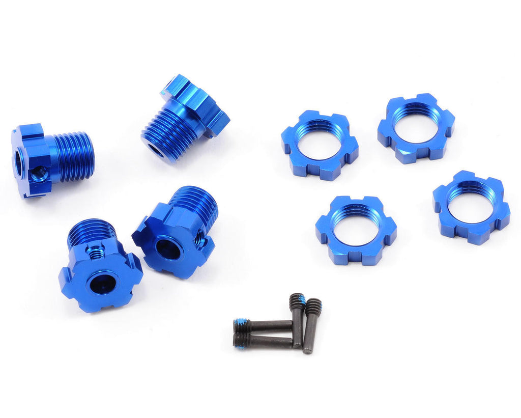 Traxxas Anodized Wheel Hubs+Hex Kit 17mm TRA5353X
