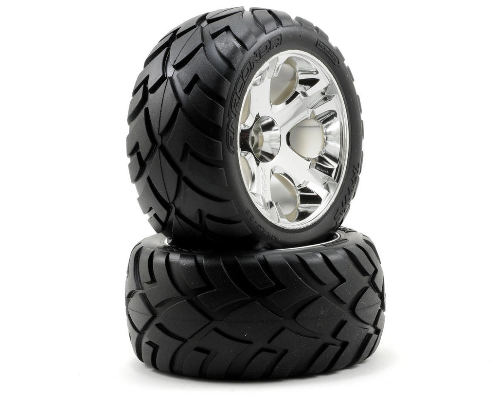 Traxxas Tires & Wheels Rear Jato 3.3 TRA5576R