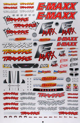 Traxxas Decal Sheet E-Maxx TRA3913