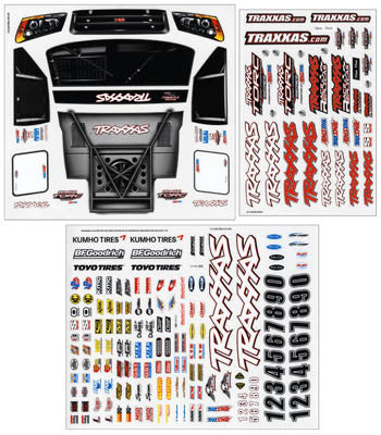 Traxxas 6813 Decal Sheet Slash 4x4 TRA6813