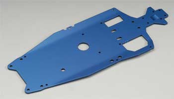 Traxxas T-6 Aluminum Chassis 3mm Blue Jato TRA5522