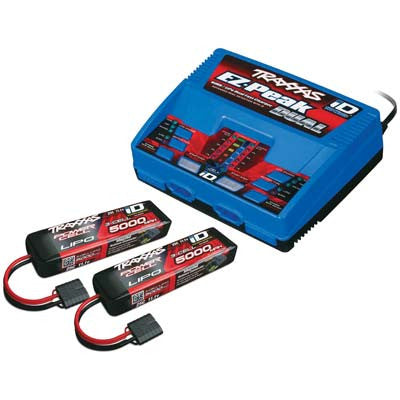 Traxxas 3S Battery/Charger Completer Pack(2-2872X)(1-2972) TRA2990