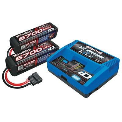 Traxxas 4S Battery/Charger Completer Pack(2-2890X)(1-2971) TRA2993