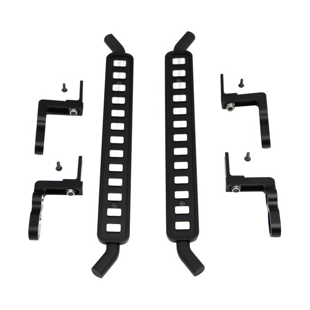 Hot Racing Aluminum ICE Cube Style Rock Rail Side Step (2) - TRX-4 HRATRXF33FC01
