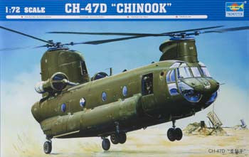 TSM 01622 1/72 CH-47D Chinook Helicopter TSM01622