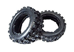 Daves Motors Hostile MX Knobby FRONT Tire Set for 5B DDMTT337F