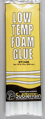 Woodland Scenics St1446 Low-Temp Glue Stick(10) WOOST1446