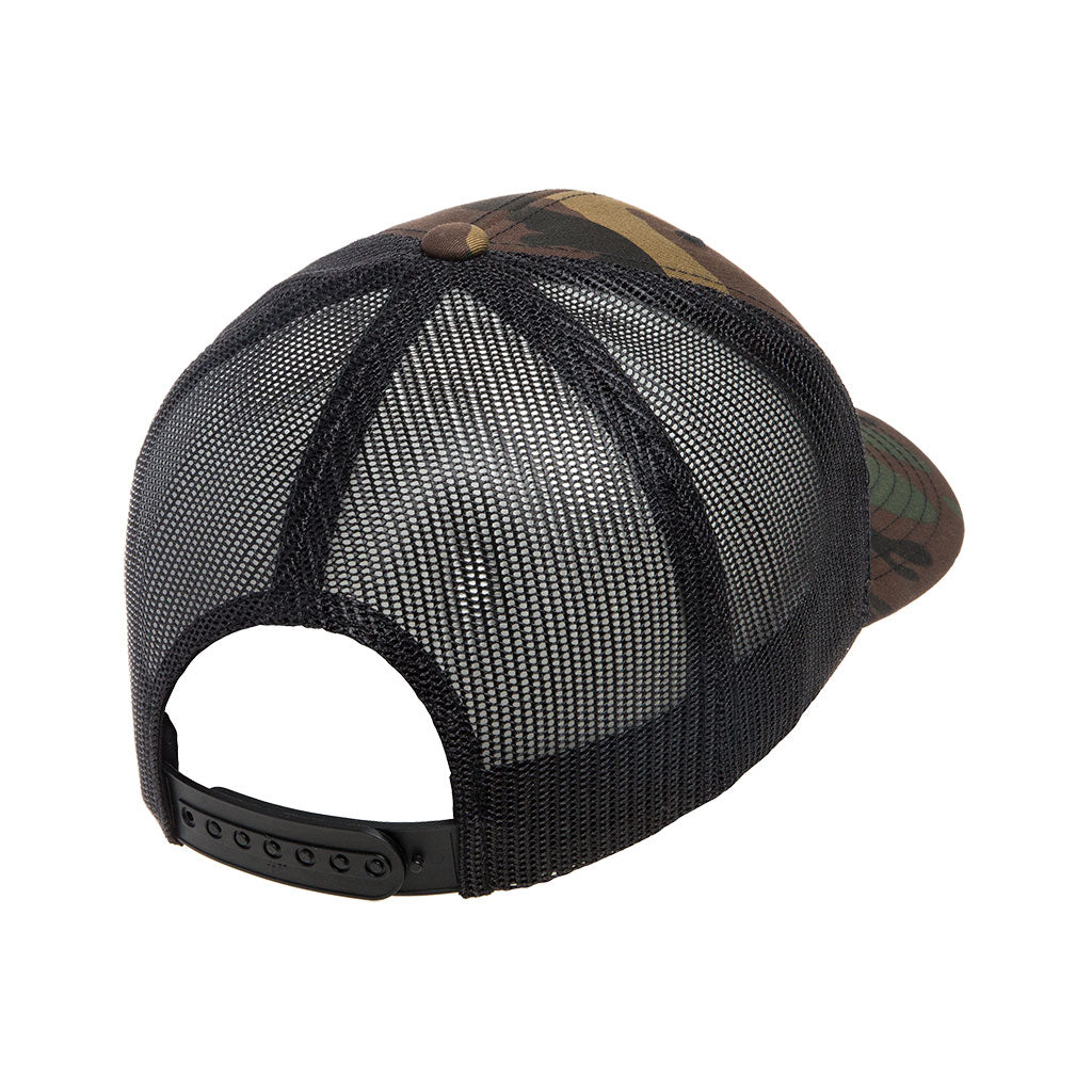 Don Jose Hat - Camo/Orange Snapback