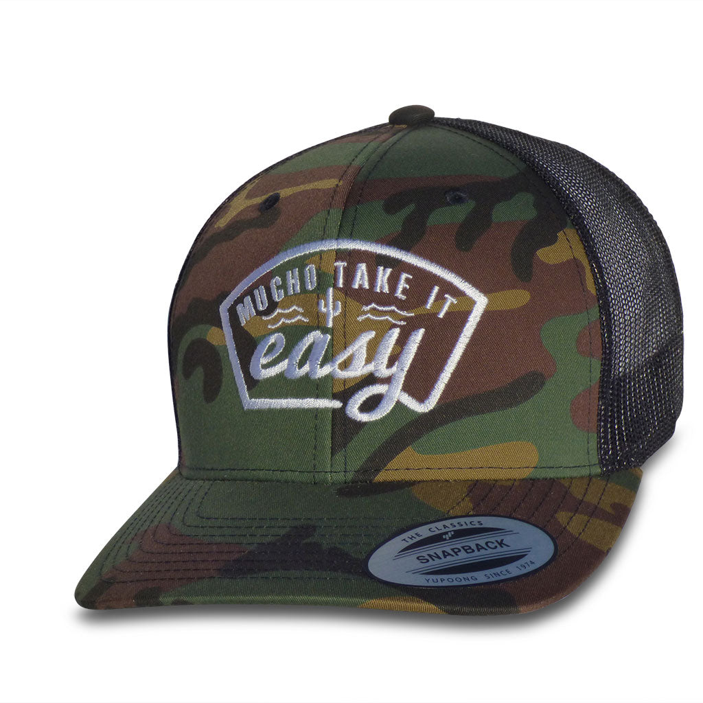 Don Jose Hat - Camo/White Snapback