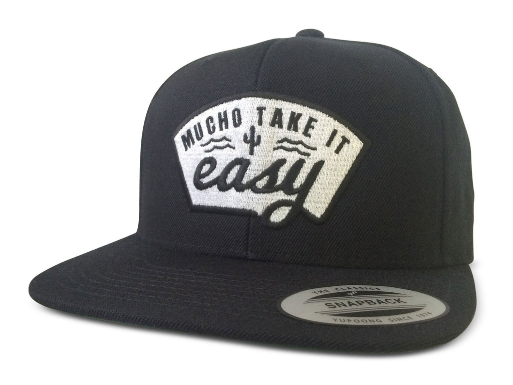 Don Jose Hat - Black Flatbill Snapback