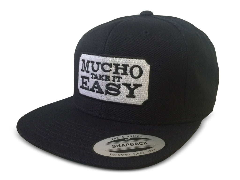 Ticket Hat - Black Snapback